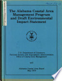 Alabama Coastal Area Management Program