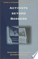 Cover of Activists Beyond Borders