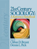 21st Century Sociology: A Reference Handbook