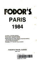 Fodor s Paris  1984