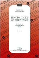Piccolo codice costituzionale