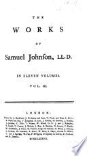 The Works Of Samuel Johnson Ll D Tales And Visions The History Of Rasselas The Vision Of Theodore The Apotheosis Of Milton Prayers And Devotional Exercises Apophthegms Sentiments Opinions And Occasional Reflections Irene A Tragedy Poems Miscellaneous Poems Poemata
