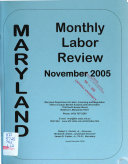Maryland Monthly Labor Review
