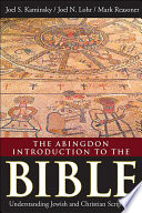 The Abingdon Introduction to the Bible Book