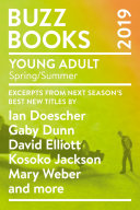 Buzz Books 2019  Young Adult Spring Summer