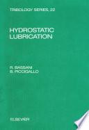 Hydrostatic Lubrication Book