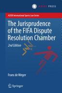 The Jurisprudence of the FIFA Dispute Resolution Chamber [Pdf/ePub] eBook