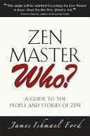 Pdf Zen Master Who?