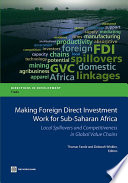 Making Foreign Direct Investment Work for Sub Saharan Africa