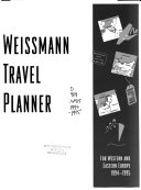 Weissmann Travel Planner for Western and Eastern Europe