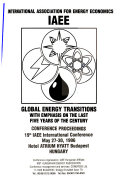 Global Energy Transitions  with Emphasis on the Last Five Years of the Century Book