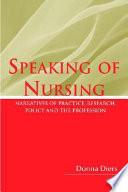 Speaking Of Nursing