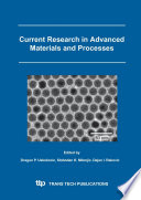 Current Research In Advanced Materials And Processes Book PDF