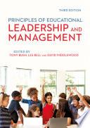 Principles of Educational Leadership   Management