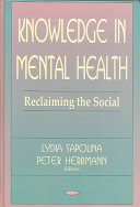 Knowledge in Mental Health