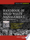 Handbook Of Solid Waste Management Book PDF