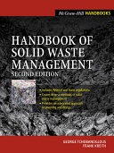 Handbook of Solid Waste Management Pdf/ePub eBook