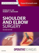 Operative Techniques: Shoulder and Elbow Surgery