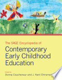 The SAGE Encyclopedia of Contemporary Early Childhood Education Book