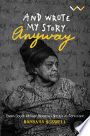 And Wrote My Story Anyway Book