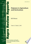 Polymers in Agriculture and Horticulture