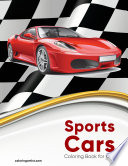 Sports Cars Coloring Book for Kids 1