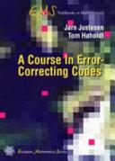 A Course in Error correcting Codes