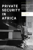 Private Security in Africa [Pdf/ePub] eBook