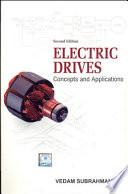 Electric Drives  Concepts   Appl  2 E Book