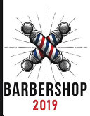 Barbershop - Barber Pole - Red, White, and Blue