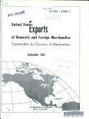 United States Exports of Domestic and Foreign Merchandise