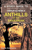 A Study Guide to Chinua Achebe's Anthills of the Savannah ebook