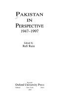 Pakistan In Perspective 1947 1997