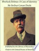 Sherlock Holmes  A Case of Identity