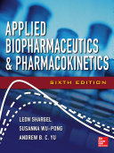 Applied Biopharmaceutics   Pharmacokinetics  Sixth Edition