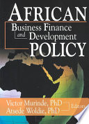 African Business Finance and Development Policy
