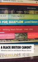 A Black British Canon?