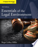 Cengage Advantage Books  Essentials of the Legal Environment