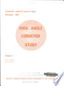 High Angle Conveyor Study