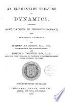 An Elementary Treatise on Dynamics