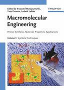 Macromolecular Engineering  4 Volume Set