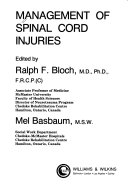 Management of Spinal Cord Injuries Book