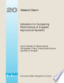 Indicators for Comparing Performance of Irrigated Agricultural Systems
