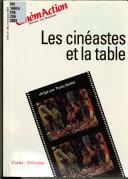 Les Cinéastes et la table
