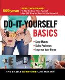 Family Handyman Do It Yourself Basics