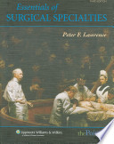 Essentials of General Surgery/ Essentials of Surgical Specialties