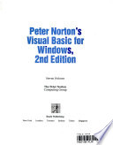 Peter Norton's Visual Basic for Windows