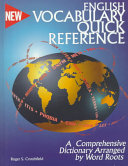 English Vocabulary Quick Reference