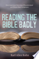 Reading the Bible Badly Book
