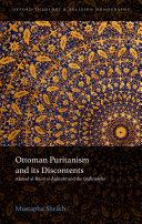 Ottoman Puritanism and its Discontents Pdf/ePub eBook